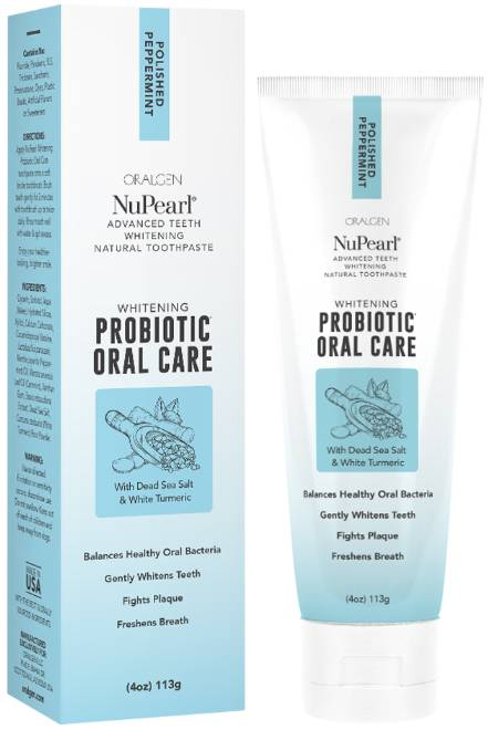 probiotic whitening toothpaste